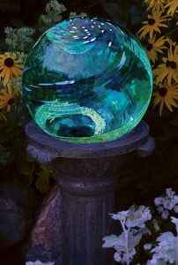 Gazing Globes Add Flair To Outdoor Living Spaces