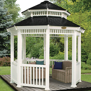 Outdoor Structures- Double Roofred Gazebo